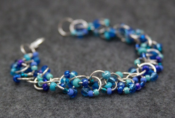 A lovely beaded bracelet