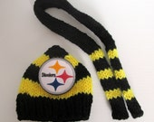 Addt'l Hat & Scarf Set (1) for Snowman Free Shipping w/Snowman Purchase Indianapolis Colts Green Bay Packers Pittsburgh Steelers Blackhawks