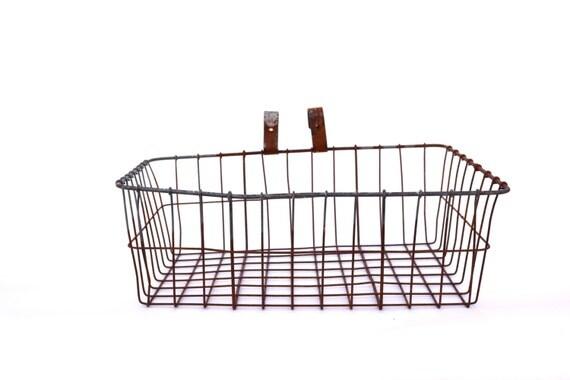 how to put a wire basket on a bike