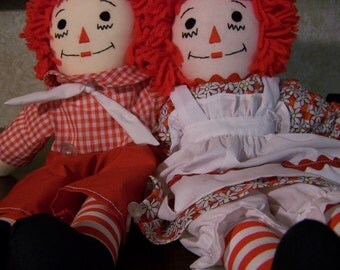 "15"" raggedy ann and andy"