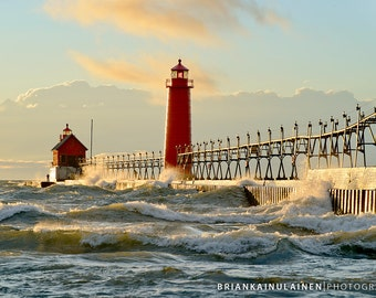 Grand Haven Lighthouse - Michigan Photography