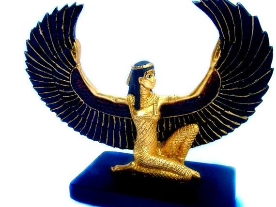 egyptian winged goddess - photo #3