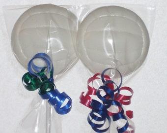 Volley Ball Lollipops