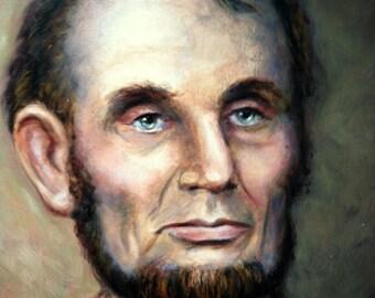 Print - Abraham Lincoln Portrait