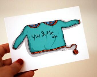 5 Postcards: You & Me, Babe (i love you