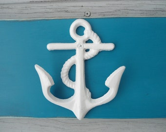 anchor towel rack nautical beach decor outdoor shower sports equipment bathing suits swimming pool outside lake cottage BeachHouseDreams OBX