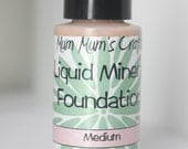 Liquid Mineral Foundation by Mum Mum's Crafts NEW