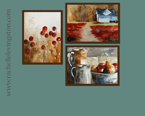 Items Similar To For Her Kitchen Wall Art Kitchen Art Print Set Kitchen Home Decor Kitchen Fruit