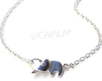 Elephant Clasp Necklace