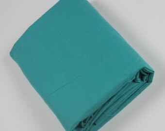 Cotton Polyester Mix Poplin - Teal