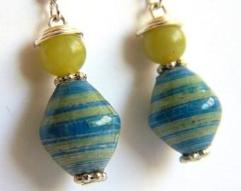 Paper Bead Jewelry - Earrings - #ET103