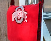 The Christy Messenger Laptop Bag by JoJo Couture, Ohio State Buckeyes