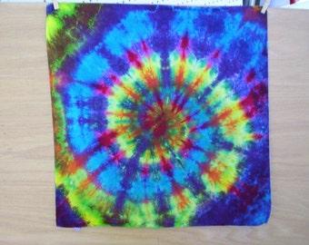 Beautiful Swirl Tie Dye  Bandana