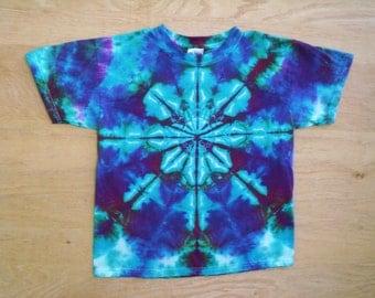 Childrens-Beautiful Kaleidoscope Tie Dye Size Youth Large