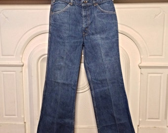Vintage  Levis Bellbottoms SF 207 High Waisted Flare Jeans