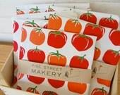 Tomatoes kitchen tea towel