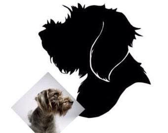 Custom Pet Silhouette Portrait