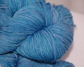 Studio June Yarn, Squishy Soft Worsted, Superwash Merino,Worsted Weight, Color: Blue Fish