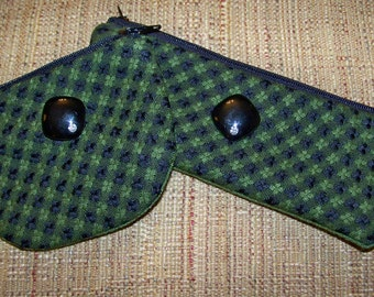 EZ Zip Change Purse or Glasses Case sewing beginners Tutorial pdf pattern with Instant Download e-file