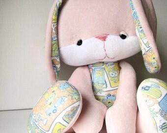 Friendly Faces Bella Bunny Plush PDF Pattern