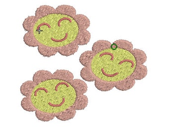 Miss Cheerilee Cutie Mark Embroidery Design File - Pick Your Size & Format