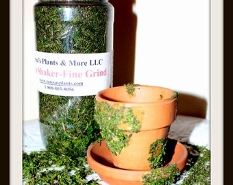 Moss Shaker-Real dried & Preserved Moss-Moss Decor-shredded moss-Moss Bits-woodland moss