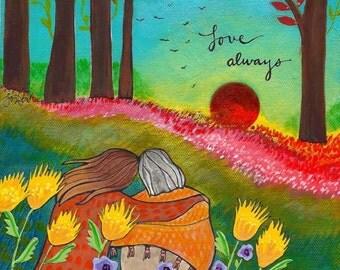 Print : Love Always
