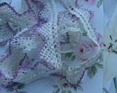 Antique Lace Vintage 1940s  Needlework Lace Trim