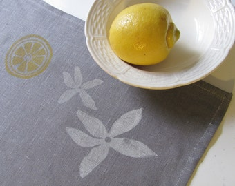 Lemon Blossom teatowel