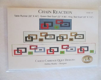 Chain Reaction Quilt Pattern - Calico Carriage Quilt Design
