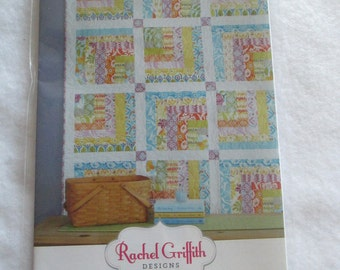 Flip Side Quilt Pattern - Rachel Griffith Designs - Jelly Roll Friendly