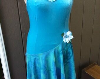 Lyrical stretch lycra dance dress