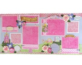 Princess 12 x 12 Premade Scrapbook Pages
