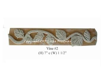 Stamp for Fabric - Vine No. 2