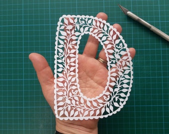 Papercut Letters - made to order