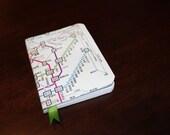 Tokyo Subway Map Mini Journal- READY TO SHIP