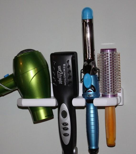 SALE Hair Blow Dryer Straightener 2 Curling Iron  Brush Shelf  Holder Bath Bathroom Organizer Salon USA  DSCC-E