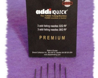addiQuick Needle Felting Tool Replacement Felting Needles
