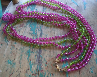 Vintage Long Layered Necklace