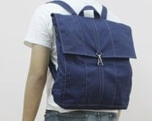 New Year SALE - 20% OFF Fitt in Royal Blue / Backpack / Satchel / Rucksack / Laptop / Tote / Women / Men / For Him / For Her / Gift Ideas