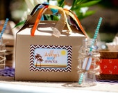 DIY Printable Vintage Surf Party Package - Soon to be seen on Hostess with the Mostess
