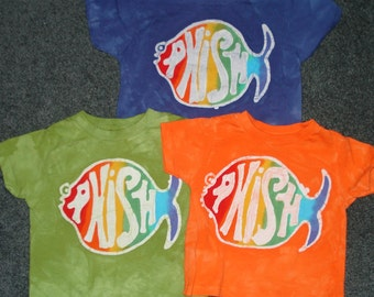 Phish Kids Tee Shirt  Jam Band CUSTOM made