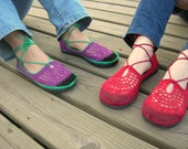 Best friends COMBO - Any 2 PAIRS of SHOES adult size - Boho hippie shoes