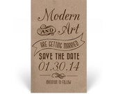 Custom Wedding Stamp   Save the Date Stamp   Custom Rubber Stamp   Custom Stamp   Personalized Stamp   Vintage Save the Date   D11