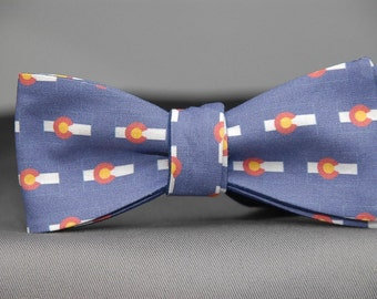 Colorado State Flag  Bow tie