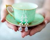 Wedding Earrings, Crystal Earrings, Bridal Earrings