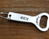 Phi Kappa Psi Bottle Opener - Fraternity, Greek Key Chain, Big Brother Little Brother Gift, Fraternity Graduation Gift