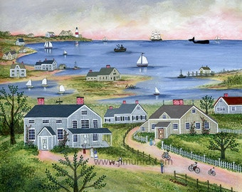 Summer in Sconset - Limited Edition Print _ by J.L. Munro