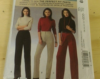 Classic Pants Slacks 10 12 14 16 McCalls 5239 Palmer and Pletsch