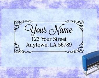Personalized Self Inking Address Stamp - Return address stamp R120